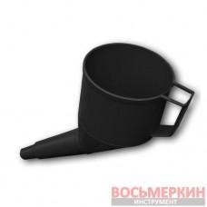 Воронка с сеточкой Black антистатическая ES10BK Bradas