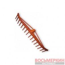 Грабли ПВХ 16 зубцов без черенка KTG116 Bradas
