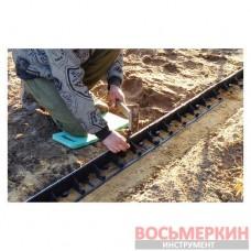 Колышек усиленный для крепления бордюра к почве 25см 50шт Rim-Bord Solid OBKS25/50 Bradas