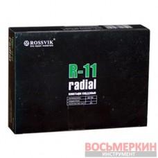 Радиальный пластырь R 11 65 х 95 мм 1 слой корда Россвик Rossvik