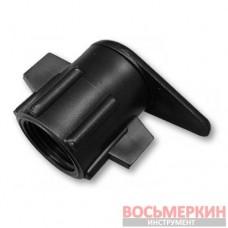 Старт-Коннектор для плоского шланга РВ 1/2 диаметр 3/8 DSTA11-34L Bradas