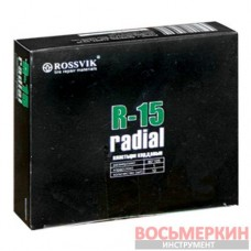Радиальный пластырь R 15 90 х 105 мм 1 слой корда Россвик Rossvik
