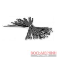 Стяжки металлические 4,6 x 125 мм (100шт) TS1446125 Bradas