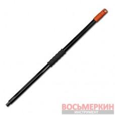 Черенок металический 120 см 24мм резьбовой конец KT-CXT-M Bradas