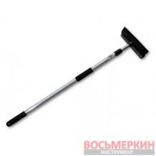 Скребок 10 с телескопической ручкой 120 см ES2111A Bradas