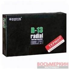 Радиальный пластырь R 13 термо 75 х 90 мм 1 слой корда Россвик Rossvik