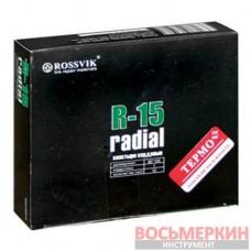 Радиальный пластырь R 15 термо 90 х 105 мм 1 слой корда Россвик Rossvik