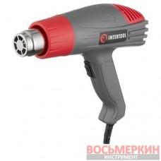 Фен технический 2000Вт 400-600 С 300-500 л/мин DT-2416 Intertool