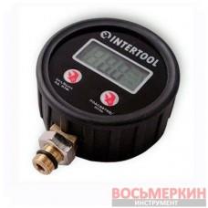 Манометр для пистолета подкачки цифровой PT-0501 Intertool