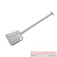 Лопата алюминиевая усиленная накладкой с черенком 340 х 350мм J5417 Bradas