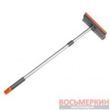 Скребок для мытья окон 8 с телескопической ручкой 60-95 см ES2110 Bradas