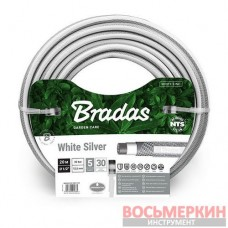 Шланг для полива NTS White silver 1/2 20м WWS1/220 Bradas