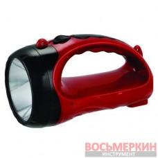 Фонарь аккумуляторный 1 LED 1 Вт LB-0103 Intertool