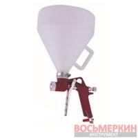 Распылитель пневматический для нанесения штукатурки пластиковый бачок FR-301 Auarita