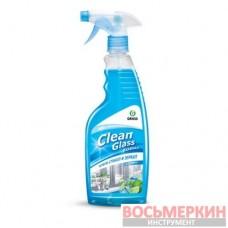 Очиститель стекол Clean Glass голубая лагуна 600 мл 125247 Grass