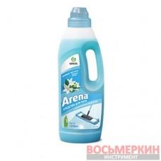Средство для пола с полирующим эффектом Arena водная лилия 1л 125184 Grass