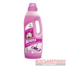 Средство для пола с полирующим эффектом Arena цветущий лотос 1л 125185 Grass