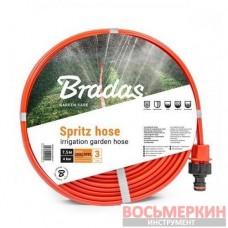 Шланг спринклерный 3-х канальный Spritz hose 7,5м WSH7,5 Bradas