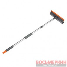 Скребок для мытья окон 10 с телескопической ручкой 75-120см ES2111 Bradas