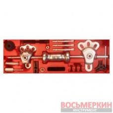 Обратный молоток универсальный с принадлежностями кейс 17 предметов 1-D1051 Ampro