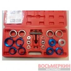Набор оправок для монтажа и демонтажа сальников 27-58 мм кейс 22 предмета 1-A1044 Ampro
