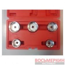 Набор съемников масляных фильтров 5 предметов 1-A1067 Ampro