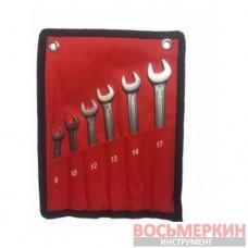 Набор ключей комбинированных 6 предметов от 8 до 17 мм NKK006 8-17 Ampro