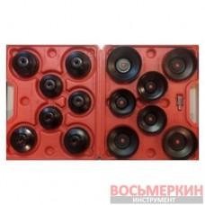 Набор съёмников масляных фильтров 14 предметов 1-A1075 Ampro