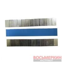 Груз клеящийся низкий голубая лента 12х5г (60 гр) металлический 100 шт/уп