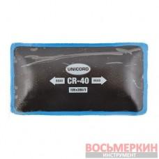 Пластырь радиальный Cr 40 105 х 200 мм 3 слоя корда Unicord