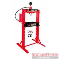 Пресс гидравлический 20т (вертикальное расположение насоса) TY20001 Torin