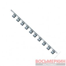 Держатель для головок (планка) 3/8 *260*12PCS BKAC1212 TOPTUL