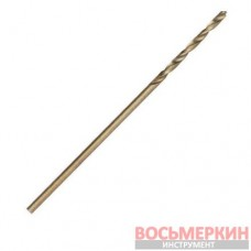 Сверло по металлу DIN338 1.0мм HSS 5% Cobalt SD-5410 Intertool