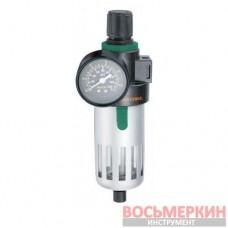 Фильтр влагоотделитель с регулятором давления для пневматики JAZ-0532 Jonnesway