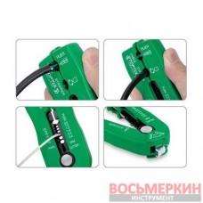 Съемник изоляции мультифункциональный компактный от 0.8 мм до 2.6 мм DIDA1020 Toptul