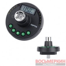 Цифровой динамометрический адаптер, шкала доворота 1/2 6.8-135Нм DTA-135A Toptul