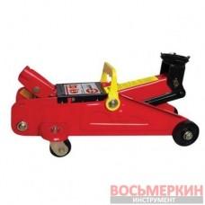 Домкрат гидравлический подкатной 2т GT0103 Intertool в чемодане 135-345мм