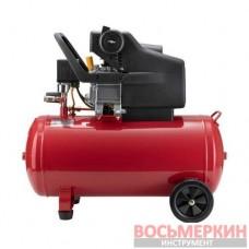 Компрессор 50л 8атм 206л/мин 220В PT-0003 Intertool 1.5кВт 2HP
