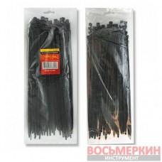 Хомут пластиковый 2,5x200мм, (100 шт/упак), черный TC-2521 Intertool
