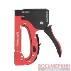 Механический степлерный пистолет под скобу от 4 мм до 14 мм RT-0103 Intertool