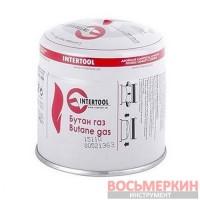 Картридж с газом бутан сменный 190 г. GB-0050 Intertool