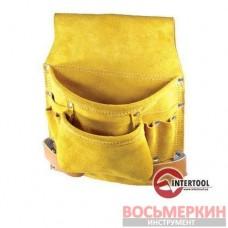 Пояс монтерский замшевый 8 карманов SP-1018 Intertool