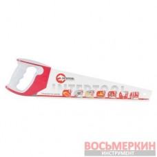 Ножовка по дереву 450 мм с каленым зубом тройная заточка 11 зуб х 1 HT-3162 Intertool