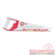 Ножовка по дереву 400 мм с калеными зубом тройная заточка 11 зуб х 1 HT-3161 Intertool