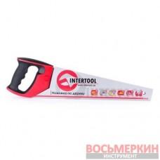 Ножовка по дереву 400 мм с каленым зубом тройная заточка 7 зуб х 1 HT-3104 Intertool