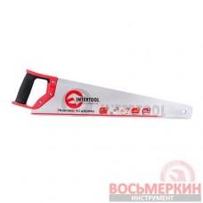 Ножовка по дереву с каленым зубом 500мм 55 HRC HT-3103 Intertool