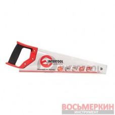 Ножовка по дереву c каленым зубом 400мм 55 HRC HT-3101 Intertool