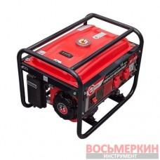Генератор бензиновый мощность 2.4 кВт четырёхтактный DT-1122 Intertool