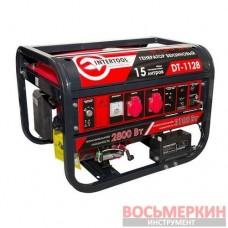 Генератор бензиновый мощность 3.1 кВт четырёхтактный DT-1128 Intertool