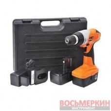 Шуруповерт аккумуляторный STORM 18В, 0-900об/мин, 2 аккум 1300мАч WT-0314.00 Intertool